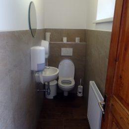 WC-Anlagen im Erdgeschoss