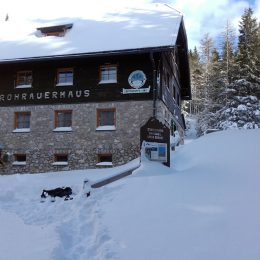 Winter am Rohrauerhaus