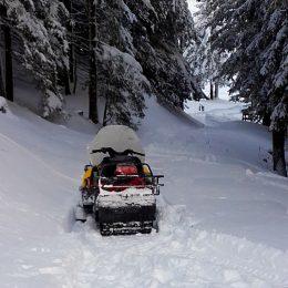 Ohne Skidoo kein Winterbetrieb!