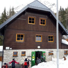 Winterbetrieb am Rohrauerhaus