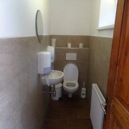 neue WC-Anlage