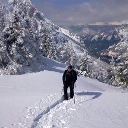 Schneeschuhwandern am Karleck